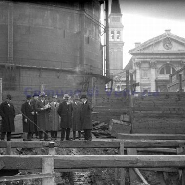 01 1929 foto storica - Bonifica Gasometri Venezia