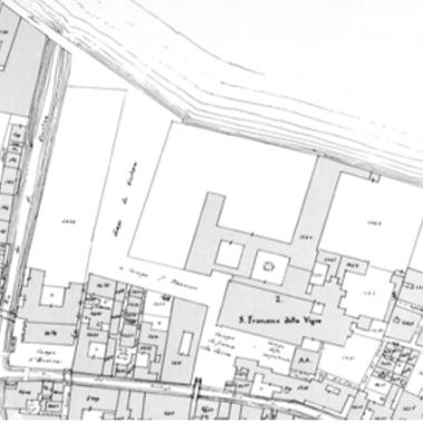 02 Catasto Austriaco - Campo San Francesco - Bonifica Gasometri Venezia