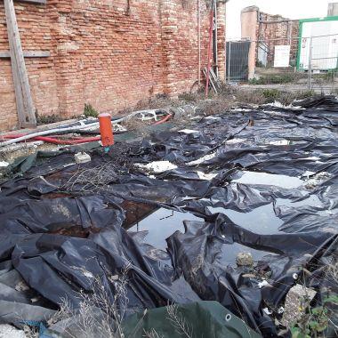 02 Degrado urbano ambiente - Bonifica Gasometri © MTK Gasometri Venezia Srl