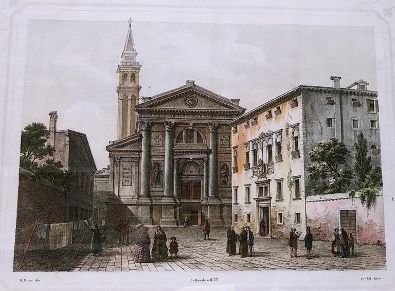 07 1857 Campo San Francesco della Vigna - Bonifica Gasometri Venezia