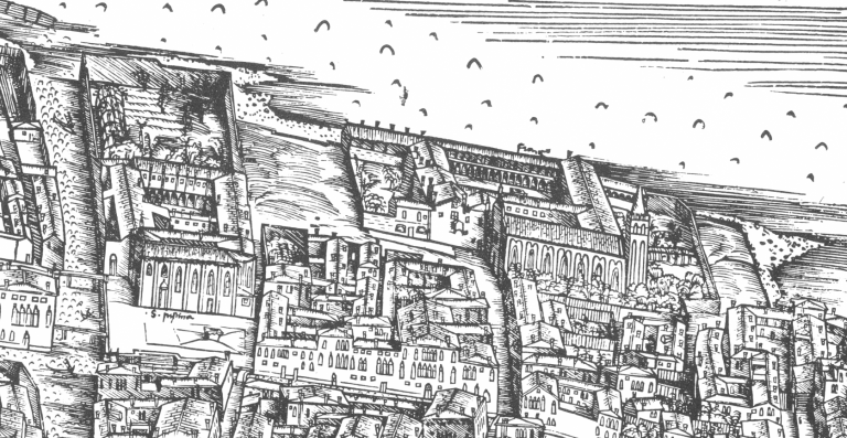 1500 Jacopo de' Barbari - particolare - Bonifica Gasometri venezia