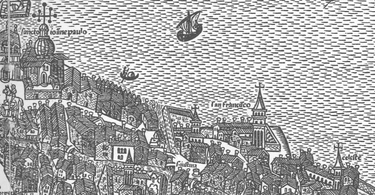 1525 Giovanni Andrea Vavassore - Bonifica Gasometri venezia