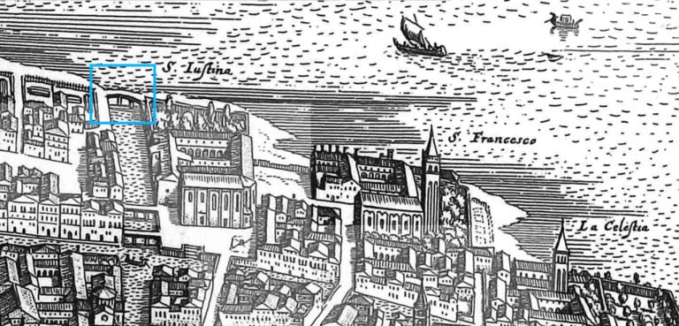 1635 Matthäus Merian - Bonifica Gasometri venezia