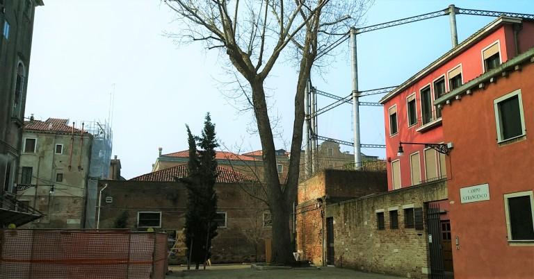 Campo San Francesco - Bonifica Gasometri Venezia