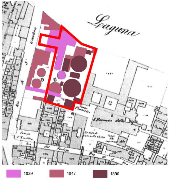 fasi di trasformazione - Bonifica Gasometri Venezia