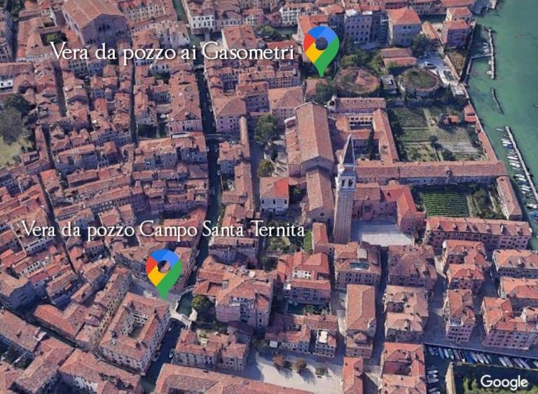 Vera da pozzo ai Gasometri e Campo Santa Ternita a Venezia, periodo 1500 - Google