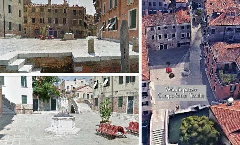 Vera da pozzo Campo Santa Ternita a Venezia, periodo 1500 - Google