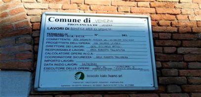 01 Fase Aprile 2020 - Bonifica Gasometri Venezia © MTK Gasometri Venezia Srl - Cartellonistica di cantiere