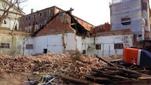 013 Fase Aprile 2020 - Bonifica Gasometri Venezia © MTK Gasometri Venezia Srl - Demolizione edificio G durante