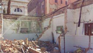 014 Fase Aprile 2020 - Bonifica Gasometri Venezia © MTK Gasometri Venezia Srl - Demolizione edificio G durante