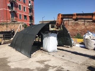 02 - Bonifica Gasometri Venezia insaccamento