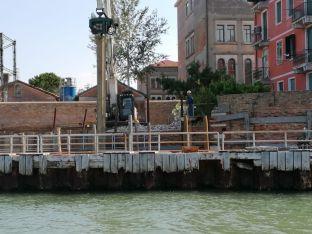 010 palancole visuale dall'esterno luglio 2020 - Bonifica Gasometri Venezia
