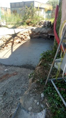 07 pellet stesura lato gasometro sistema brevettato mapei - Bonifica Gasometri Venezia