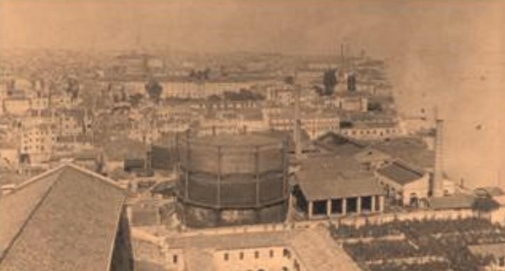 Gasometri di Venezia inizi 1900 - Giornale della Numismatica