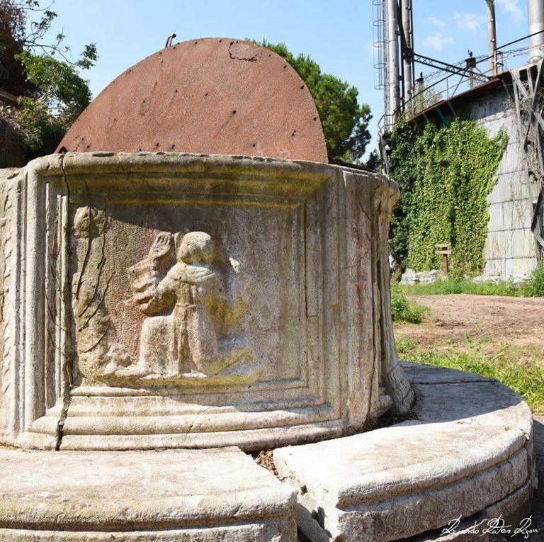 Vera da pozzo San Francesco Gasometri di Venezia - foto giugno 2020 Riccardo Roiter Rigoni