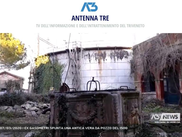 antenna 3 news - 7 marzo 2020 vera da pozzo gasometri di venezia