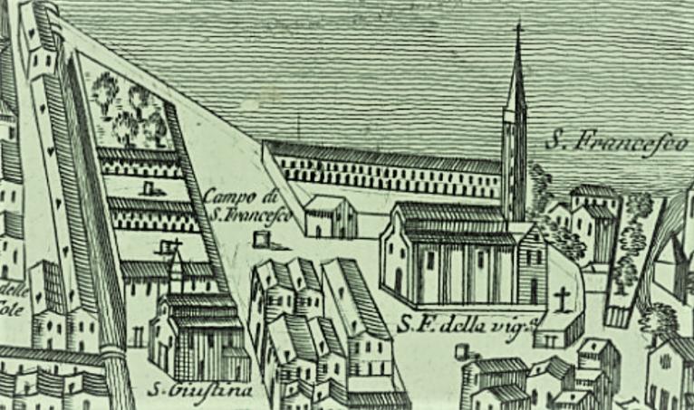 vera da pozzo, 1770 veduta di Lodovico Furlanetto - Bonifica Gasometri Venezia