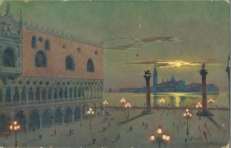 Lampioni in ghisa Piazzetta San Marco VENEZIA 800 GASOMETRI - Fondazione Neri Museo Italiano della Ghisa